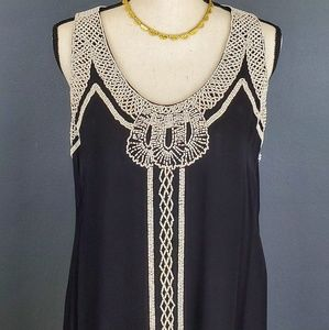 Beaded French Connection Shift Dress